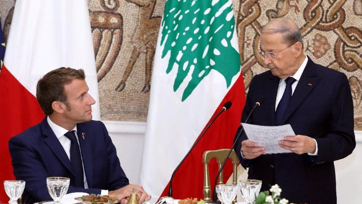 رسالة ماكرون إلى عون تؤكد استياء فرنسا من عقبات تشكيل الحكومة