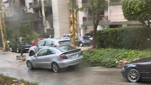 بالفيديو: شوارع جونية تغرق بالمياه