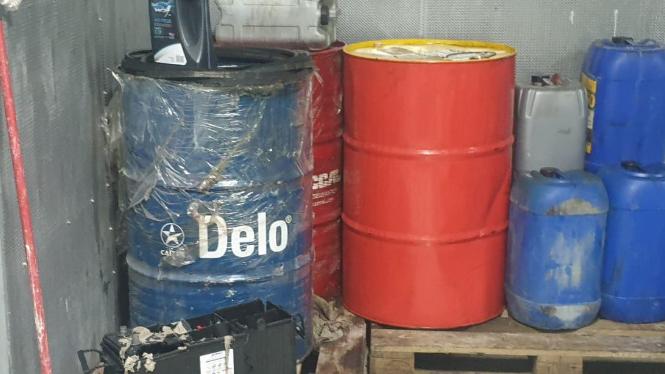 ضبط كميات من المازوت وعدد من قوارير الغاز في بيروت