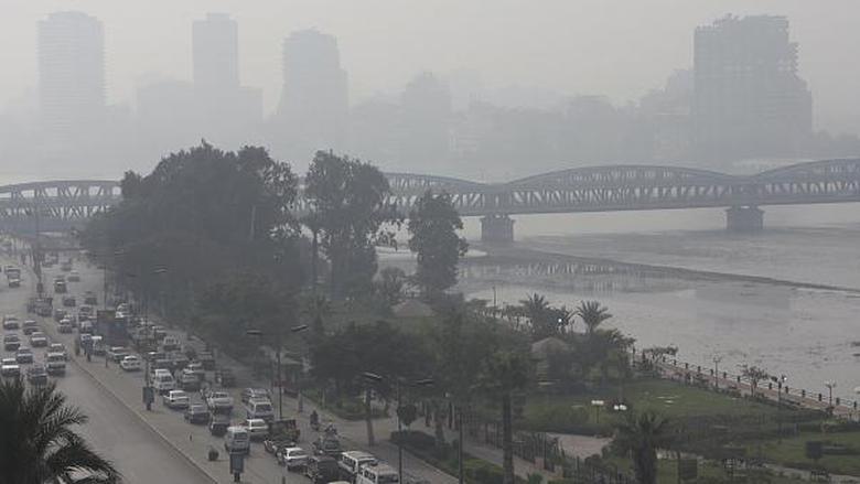 مستويات مقلقة لتلوث الهواء في بيروت والقاهرة