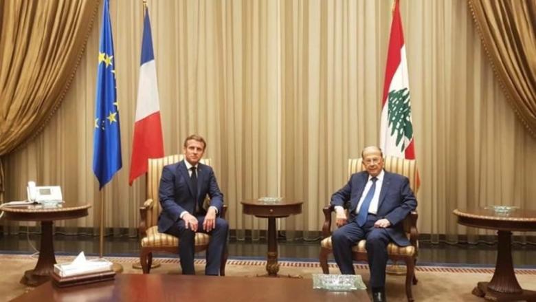 إتصال بين عون ونظيره الفرنسي.. وماكرون يشدد على حاجة لبنان الملحة إلى تشكيل حكومة