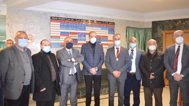 وزير الصحة إفتتح قسم الكورونا في مستشفى عثمان في كترمايا