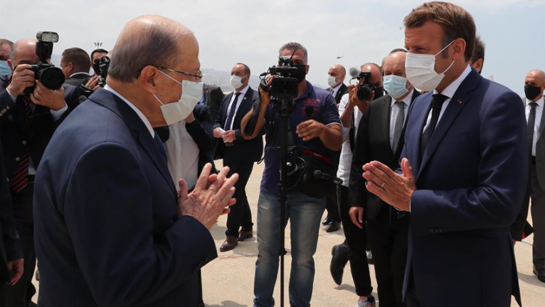 """فرنسا تضغط حكوميا من باب """"مؤتمر الدعم"""""""