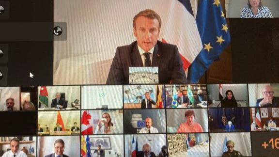 فرنسا تنظم إغاثة اللبنانيين.. بانتظار نظام سياسي جديد