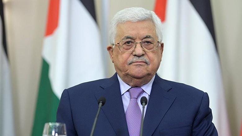 الرئيس الفلسطيني أبرق شاكراً جنبلاط
