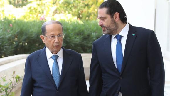 أجواء ايجابية سادت لقاء عون - الحريري... واستبعاد لولادة الحكومة غداً