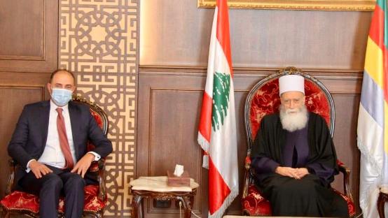 شيخ العقل استقبل سفير تونس والقنصل رحّال وشخصيات