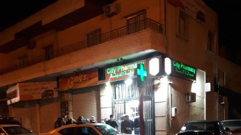 بالصور: سرقة صيدلية في زحلة والاعتداء على صاحبها