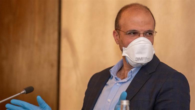 وزير الصحة: الارتفاع المتوقّع لإصابات كورونا بعد الأعياد مؤشّر غير سليم