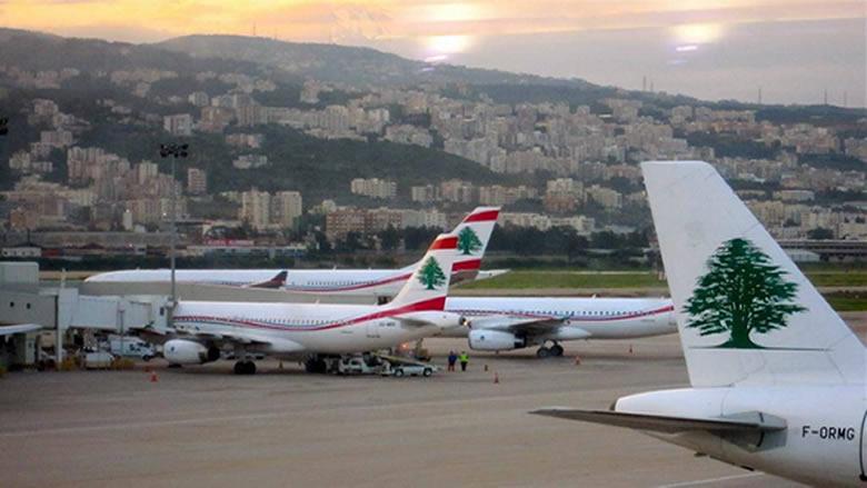 """16 حالة """"كورونا"""" إيجابية على متن رحلات وصلت الى بيروت في 27 الحالي"""