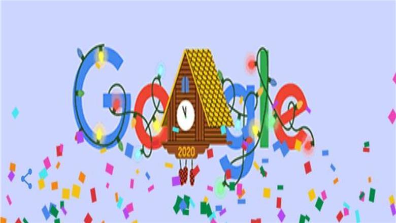 بدقات الساعة.. غوغل يحتفل بليلة رأس السنة