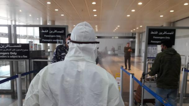40 حالة كورونا ضمن رحلات وصلت إلى بيروت في 1 و2 الحالي