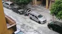 بالفيدبو: المياه تملأ شوارع وطى المصيطبة مع تساقط كثيف لحبات البرد