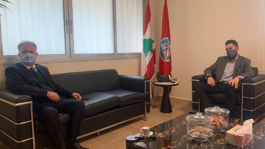 النائب جنبلاط تابع مع صافي مشاريع إنمائية واقتراحات حلول لأزمة النفايات
