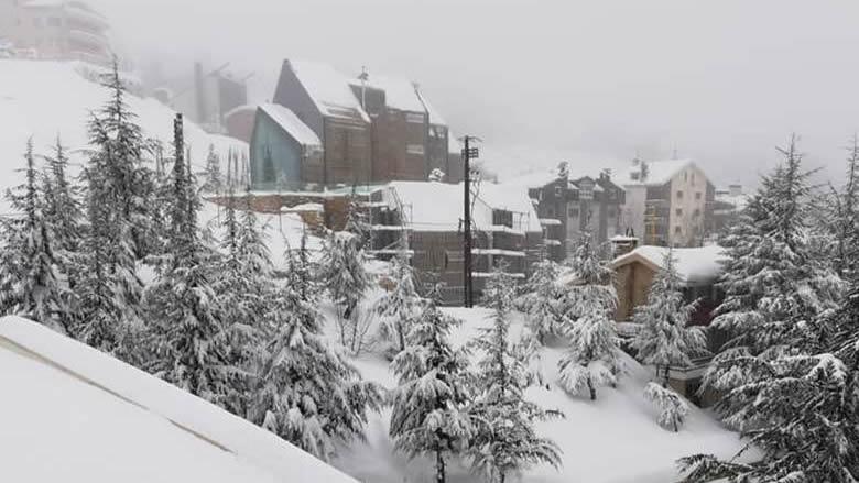 الثلوج لامست الـ600 متر... وتحذيرات من الجليد في اليومين المقبلين