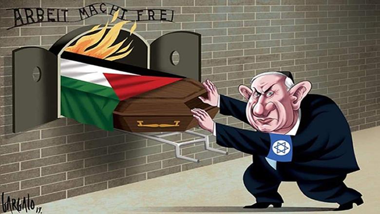 حملة صهيونية على فنان برتغالي... والسبب كاريكاتور دفاعا عن الفلسطينيين