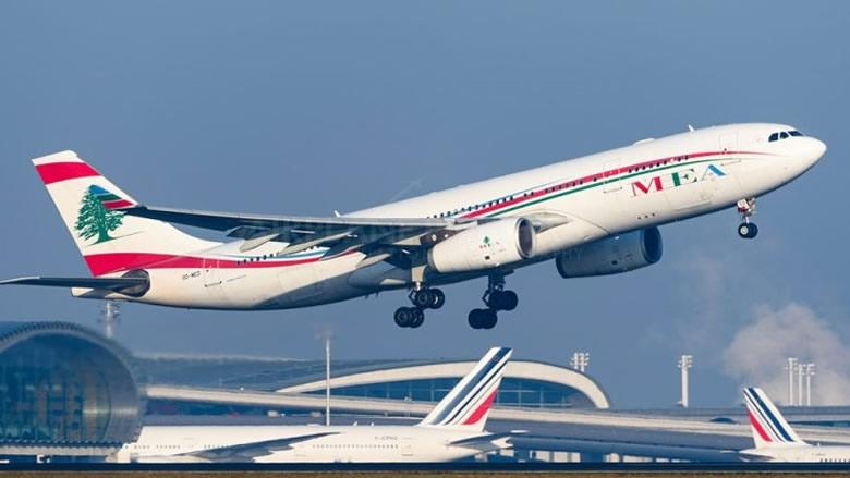 """""""طيران الشرق الأوسط"""" تلغي قرار بيع بطاقات السفر بالدولار الاميركي"""