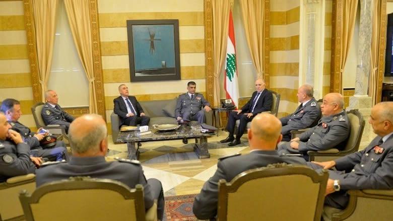 إجتماع أمني في وزارة الداخلية