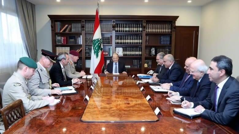 عون: إضطرابات الوضع في الشرق الأوسط أثر سلباً على لبنان