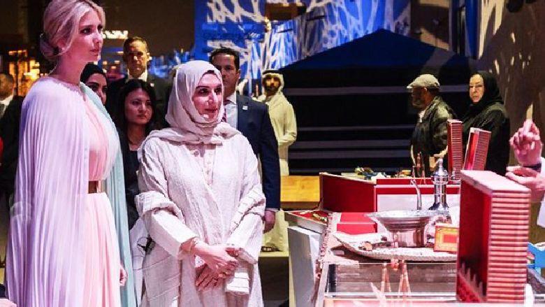 إيفانكا ترامب تتجول في دبي!