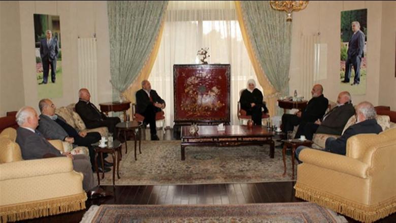 بهية الحريري عرضت مع وفد الجماعة الإسلامية الأوضاع