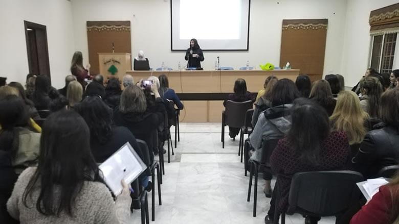 """ندوة حوارية حول تعزيز الثقة بالنفس والوعي لـ""""النسائي التقدمي - الشوف"""""""