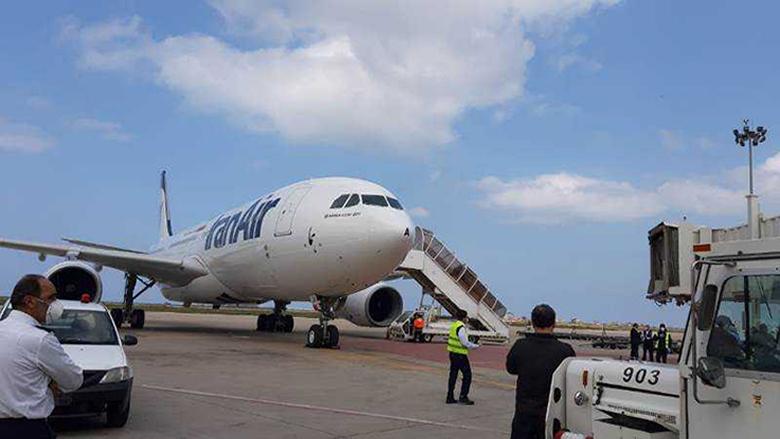 """طائرة إيرانية جديدة في بيروت... وإجراءات احترازية من """"كورونا"""" في المطار"""