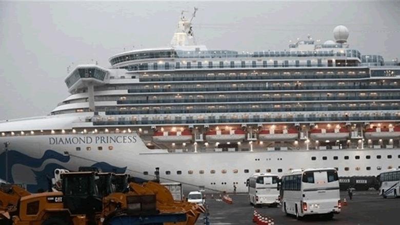التلفزيون الياباني: وفاة رابع راكب من السفينة السياحية في اليابان