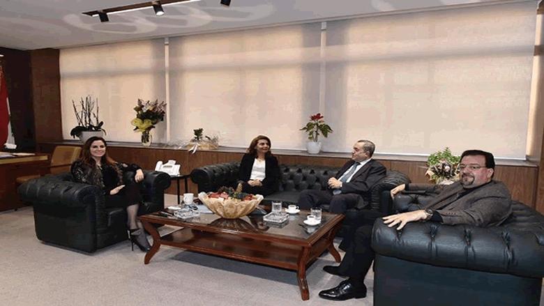 عبد الصمد التقت وفد المجلس المذهبي مهنئا