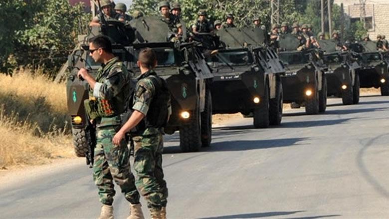 سوريين في قبضة الجيش لانتمائهم لتنظيم داعش