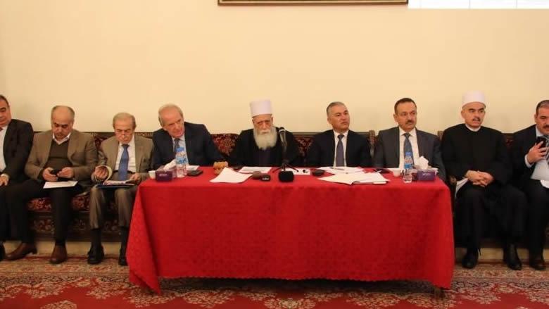 المجلس المذهبي اجتمع برئاسة شيخ العقل: على الحكومة التصدي لأسباب الأزمة الاقتصادية