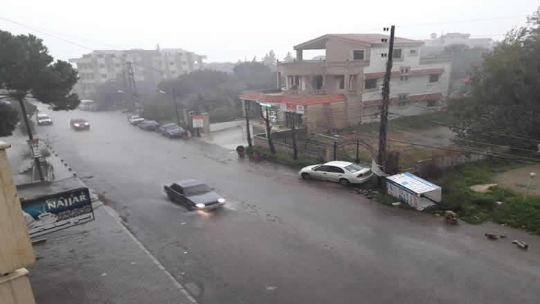 رئيس بلدية صيدا يعطي تعليماته لمواجهة العاصفة