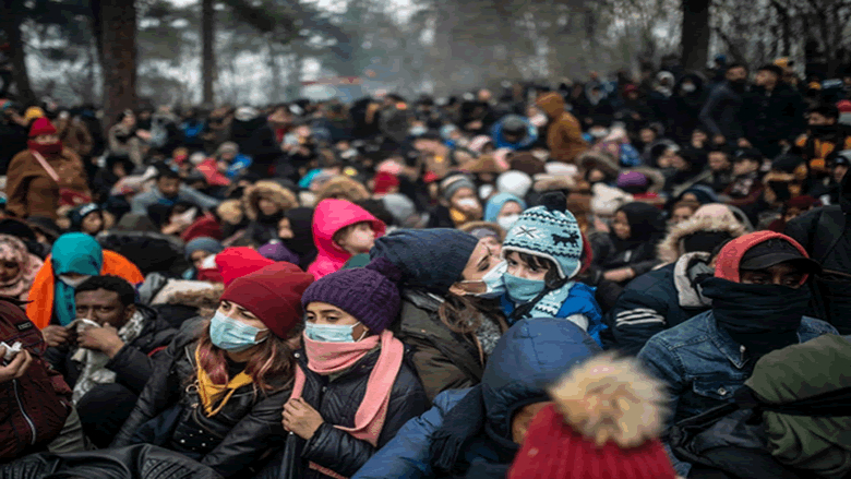 الأمم المتحدة تكشف عدد المهاجرين على الحدود بين تركيا واليونان