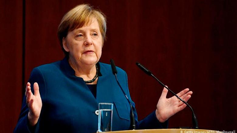 """ميركل: نحو 70 في المئة من الألمان معرضون للإصابة بـ""""كورونا"""""""