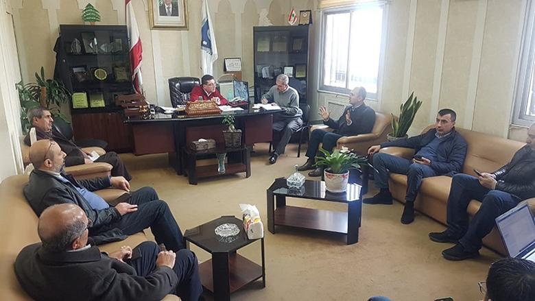 """اطلاق خلية أزمة """"كورونا"""" من قائمقامية راشيا بحضور ممثل أبو فاعور"""