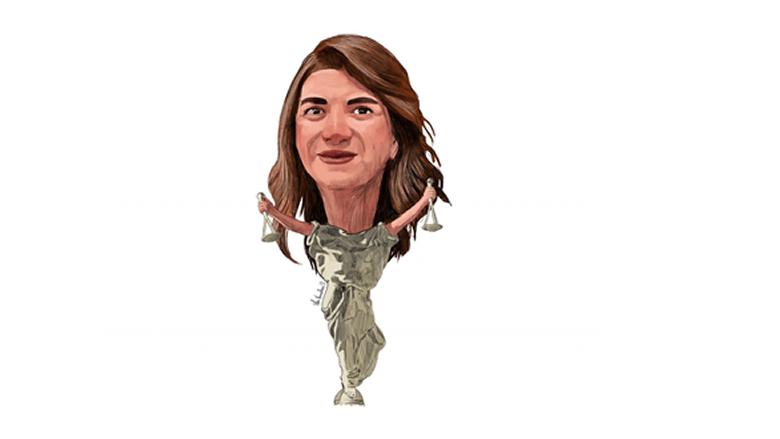 ماري كلود نجم وزيرة العدل اللبنانية تتحدى السلطة القضائية العليا