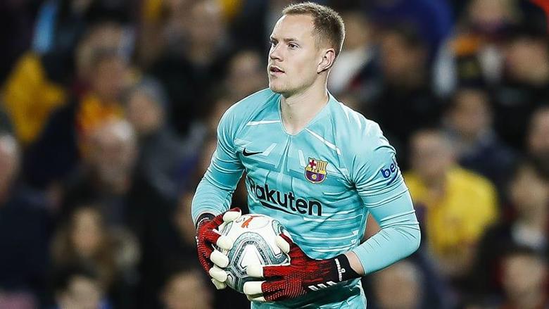 برشلونة يفاوض تير شتيغن لتجديد عقده