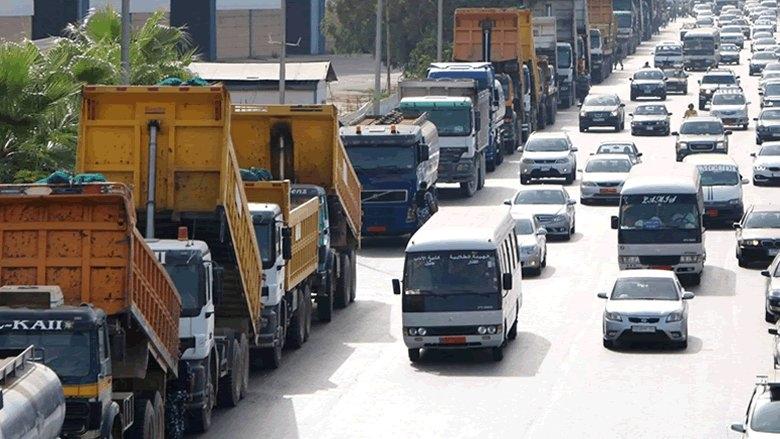 إعلان وقف حركة النقل العام من الشوف إلى بيروت وعاليه