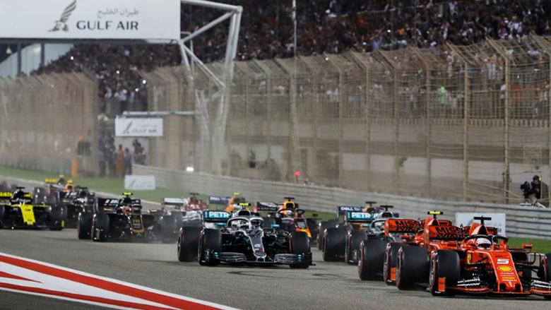 فورمولا 1 ستجري بين 15 و18 سباقاً
