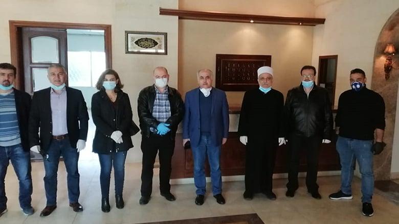 انطلاق ورشة تجهيز مركز للحجر الصحي في بحمدون بتوجيه من جنبلاط