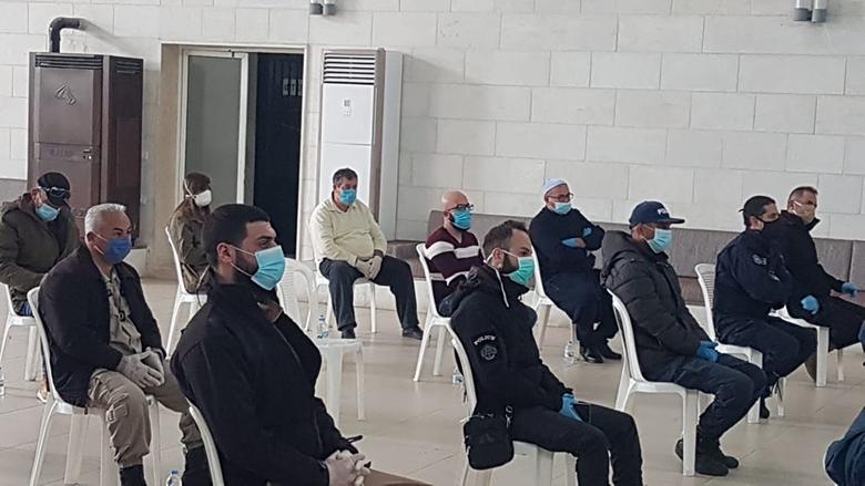 ورشة تدريبية للوقاية من كورونا في قضاء راشيا
