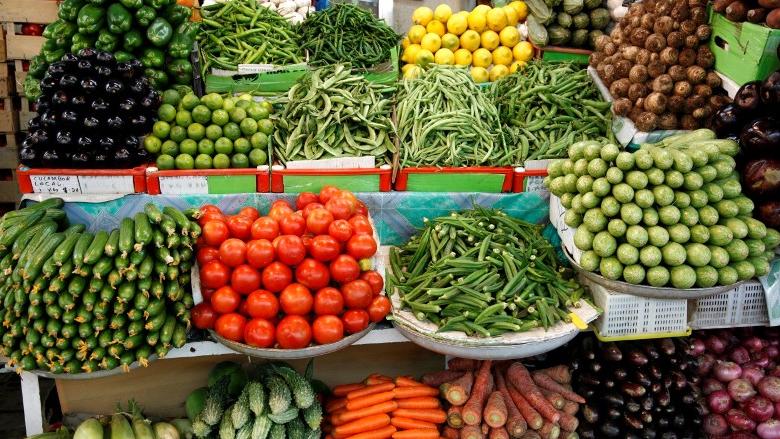 إرتفاع أسعار الخضار والفاكهة بين 30 و35 في المئة