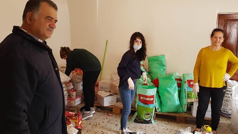 لجنة إغاثة لمساعدة المحتاجين في مجدليا