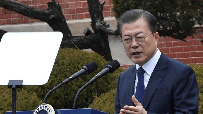 رئيس كوريا الجنوبية يلغي جولته بسبب فيروس كورونا