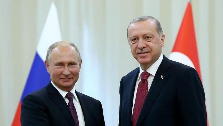 أردوغان خلال لقاء بوتين: المهمة الرئيسية للزيارة تنمية العلاقات بيننا