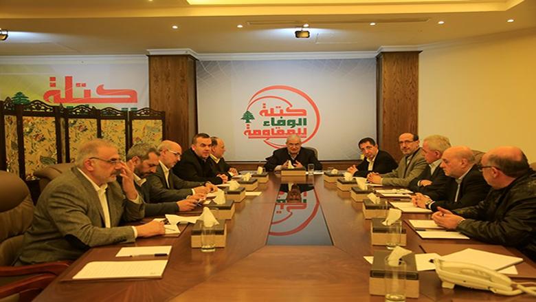 الوفاء للمقاومة: يترتب على لبنان المأزوم أن يتخذ الخيار الوطني الأنسب