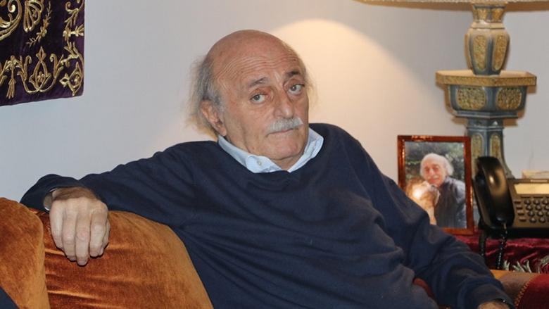 جنبلاط: خطاب دياب خلا من أي محتوى.. والفئة الحاكمة تقود لبنان إلى المجهول