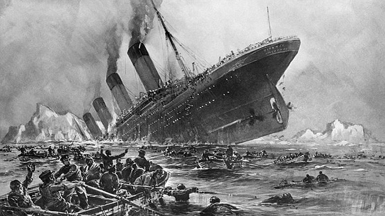 """في غرق """"تيتانيك""""... ولبنان"""