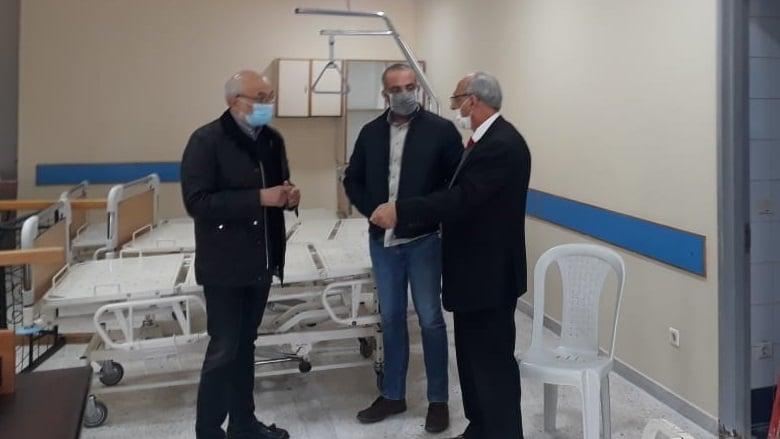 """شهيب و""""التقدمي"""" الغرب تفقدا مستشفى الشحار الحكومي ونوّها بجهوزيتها"""