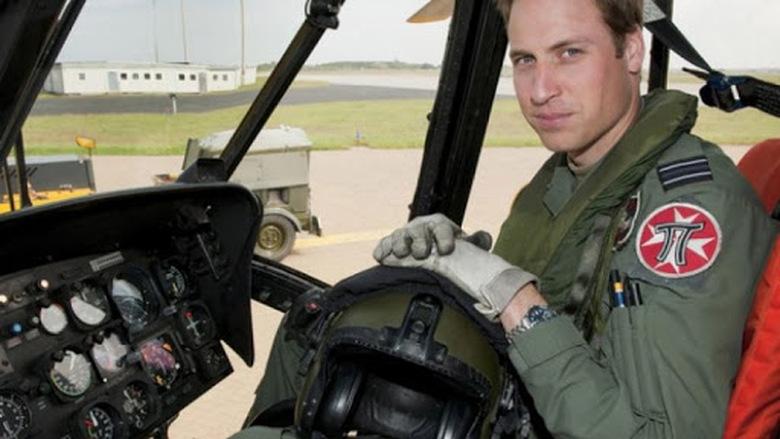 الامير ويليام يستعدّ للتدخل كطيار اسعاف جوي لمواجهة كورونا